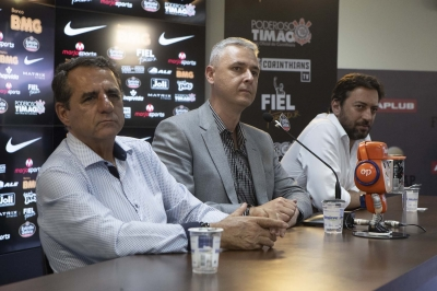 """Tiago Nunes' first day with Timão: """"Being Corinthians head coach, one of the world's biggest clubs, is an honour and a pleasure"""""""