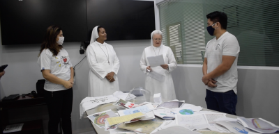 Corinthians delivers Personal Protective Equipment donation to hospital