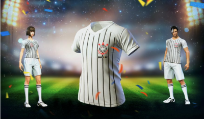 Free Fire World Champion, Corinthians launches official shirt in the game