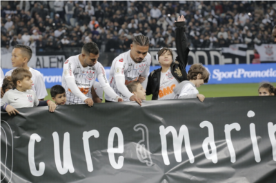 #CureAMarina Corinthians supports fund raising campaign to purchase the most expensive medicine in the world