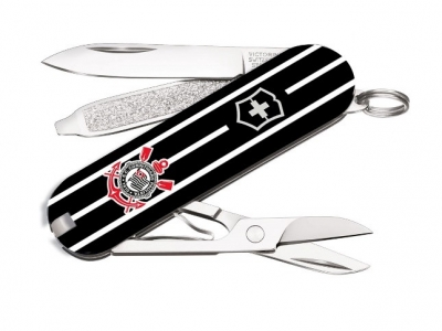Victorinox lança canivete exclusivo do Corinthians
